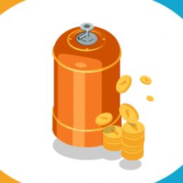 La bombona de butano sube un 4,87% y marca su mayor precio máximo desde 2018