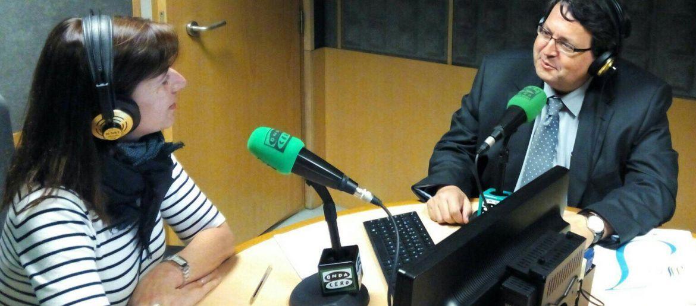 """Gran intervención radiofónica de nuestro director comercial Manuel López en el programa """"Vigo en la Onda"""" con Raquel Sánchez"""